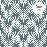 Vector pattern, repeating abstract leaves, object of leaf or flower, floral. Royalty Free Stock Photography