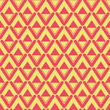 Vector pattern of rounded rhombuses. Royalty Free Stock Photos