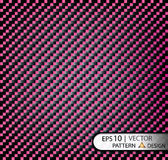 Vector Pattern seamless carbon fiber purple under mask for the production of film with a texture. EPS10 Royalty Free Stock Photography