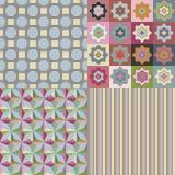 Vector Pattern Set royalty free illustration