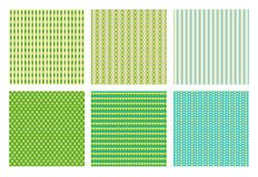 Vector pattern set royalty free stock photography
