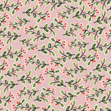 Vector  pattern with sprigs of plants for your design Royalty Free Stock Photography