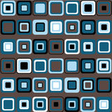 Vector Pattern of Squares Royalty Free Stock Images