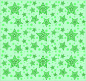 Vector pattern with stars Stock Image