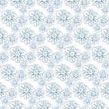 Vector pattern with stylized flowers. Seamless floral print, nature background, textile texture. Seamless floral print, nature background, textile texture Royalty Free Stock Image