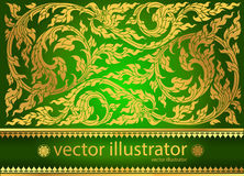 Vector pattern thai tradition stylish Royalty Free Stock Images