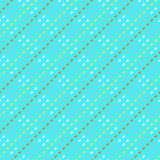 Vector pattern with triangles in hipster style Stock Photography