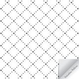 Vector pattern Valentine`s concept. Modern stylish texture. Repeating geometric tiles with abstract heart. And small square on rhombuses shape Royalty Free Stock Images