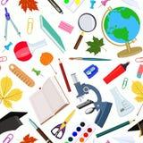 Seamless pattern on school theme. Vector illustration. vector illustration