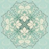 Vector pattern in vintage style. Filigree pattern of floral elements. Design element Royalty Free Stock Photos