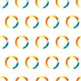 Vector Pattern Watercolor Ring Royalty Free Stock Photos