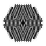 Mandala leaf pattern black and white royalty free stock photography
