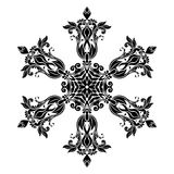 Vintage Mandala Design in White Background Royalty Free Stock Photography