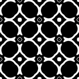 Monochrome seamless pattern in white background. This vector pattern is for website background, wallpaper, screen sever, book cover, screen printing, laser Stock Photo