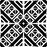 Monochrome seamless pattern in white background. This vector pattern is for website background, wallpaper, screen sever, book cover, screen printing, laser Royalty Free Stock Photo