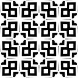 Monochrome seamless pattern in white background. This vector pattern is for website background, wallpaper, screen sever, book cover, screen printing, laser Royalty Free Stock Photos