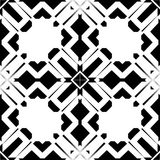 Monochrome seamless pattern in white background. This vector pattern is for website background, wallpaper, screen sever, book cover, screen printing, laser Royalty Free Stock Photography