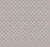 Vector pattern white and brown. Stock Image