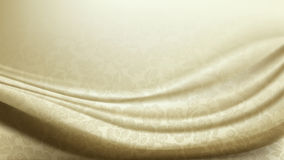 Vector of Patterned Ivory Silk Fabric Background Stock Photo