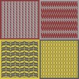 Vector patterns. Set of seamless  patterns Stock Photo