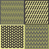 Vector patterns Royalty Free Stock Photography