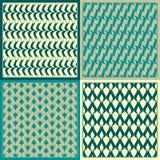 Vector patterns. Set of seamless  patterns. Minimalism Royalty Free Stock Photography