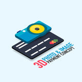 Vector payment for the image concept Stock Images
