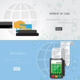 Vector payment methods concept Stock Photo