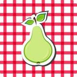 Vector pear Stock Photos
