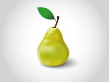 Vector Pear Royalty Free Stock Photography
