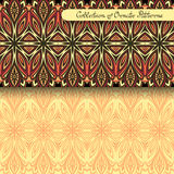 Vector Peerless Decorative Feather Stock Image