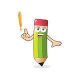 Vector Pencil Ask Mascot Stock Photos
