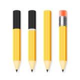 Vector pencil set Royalty Free Stock Photo