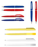 Vector pens Stock Photo