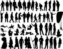 Free Vector People Royalty Free Stock Photos - 4563318