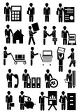 Vector people group business. Isolated Royalty Free Stock Image