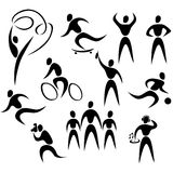 Vector People Icons Stock Photography