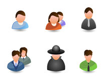 Vector_people_icons 库存照片