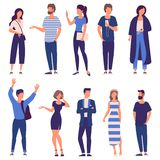 vector people set royalty free illustration