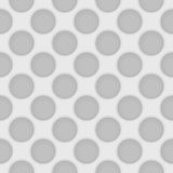 Vector perforated light gray seamless pattern. Industrial abstra Stock Photo