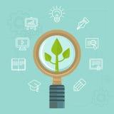 Vector personal development concept stock illustration