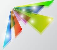 Vector_perspective_card Illustration Libre de Droits