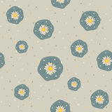 Vector peyote lophophora cactus seamless pattern. Vector floral peyote lophophora cactus green gray beige seamless pattern Stock Illustration