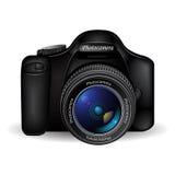 Vector photo camera Stock Photos
