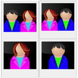 Vector photo for documents, family stock illustration