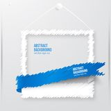 Vector photo frame banner. Vector illustration. Stock Images