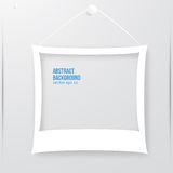 Vector photo frame banner. Vector illustration. Stock Photography