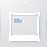 Vector photo frame banner. Vector illustration. Stock Photography
