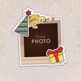 Vector photo frame Stock Photo