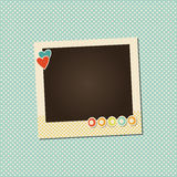 Vector photo frame Stock Photography